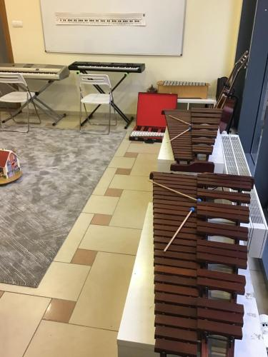 Sala do Szkoleń, Muzykoterapii, Świetlica
